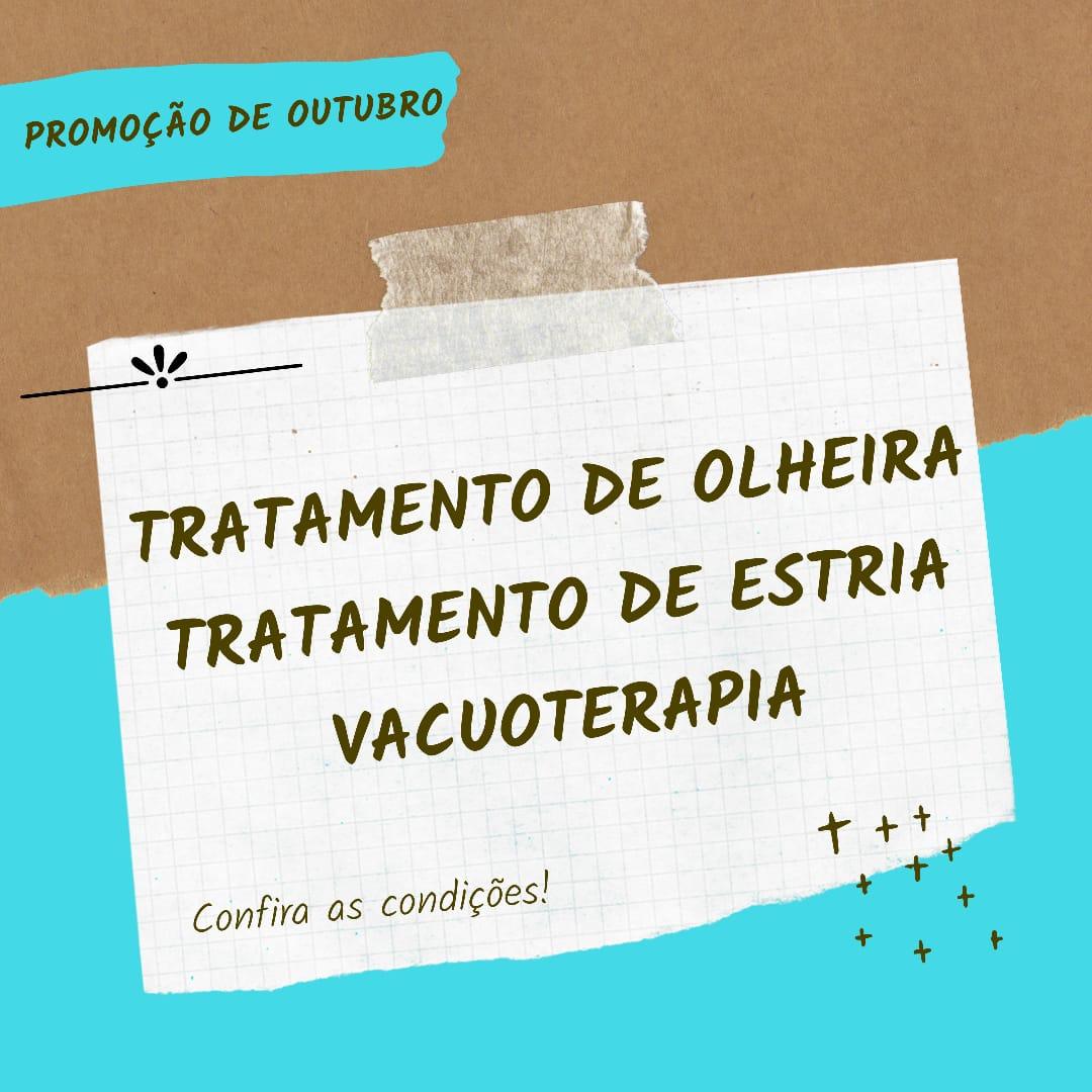 PROMOÇÕES DE OUTUBRO!